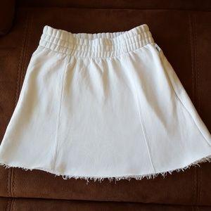 Good American Jersey Mini Skirt